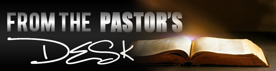 A note from our Pastor 10/18/20