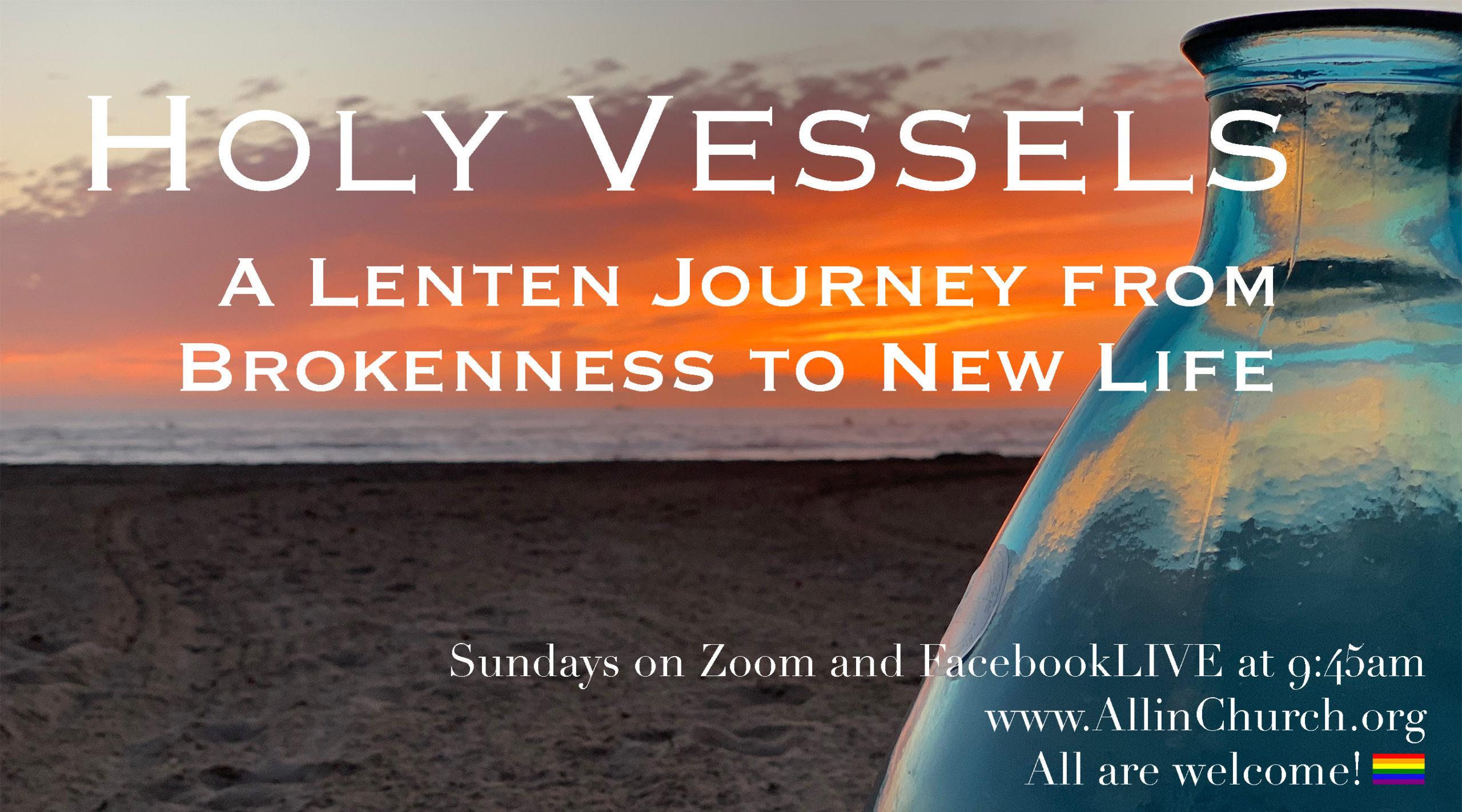 Sunday Worship First Week of Lent 2/21/21